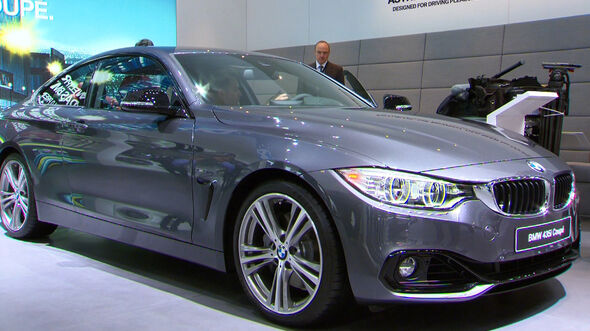 Der neue BMW 4er auf der IAA