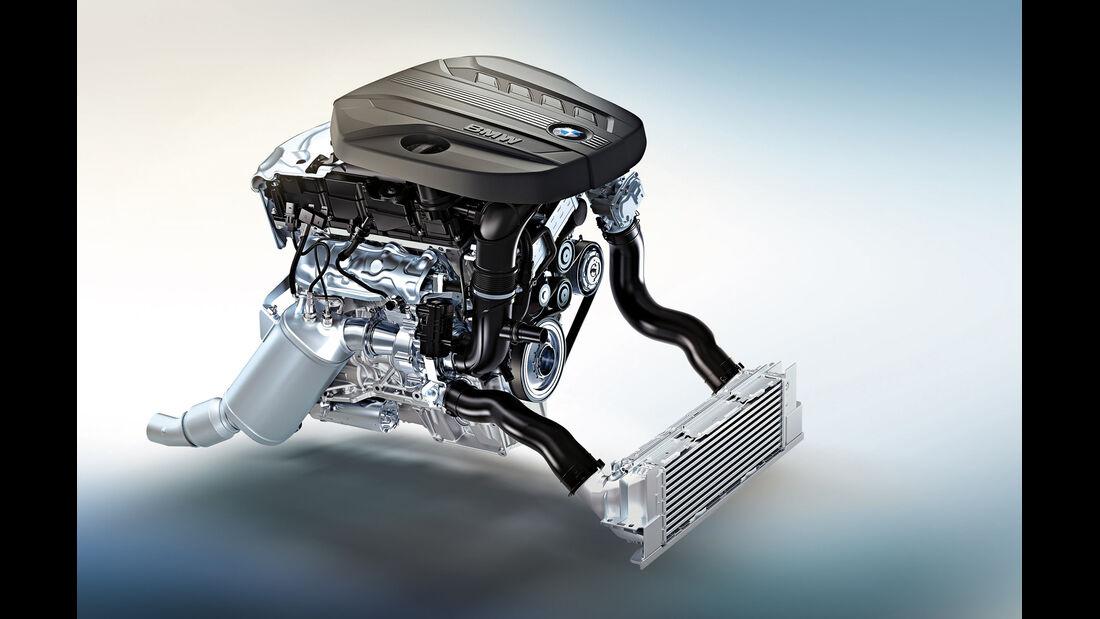Der neue BMW TwinPower Turbo 4-Zylinder Dieselmotor