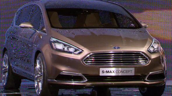 Der neue Ford S-Max Concept auf der IAA