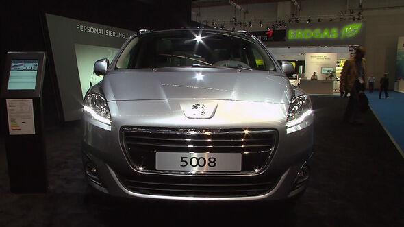 Der neue Peugeot 5008 auf der IAA