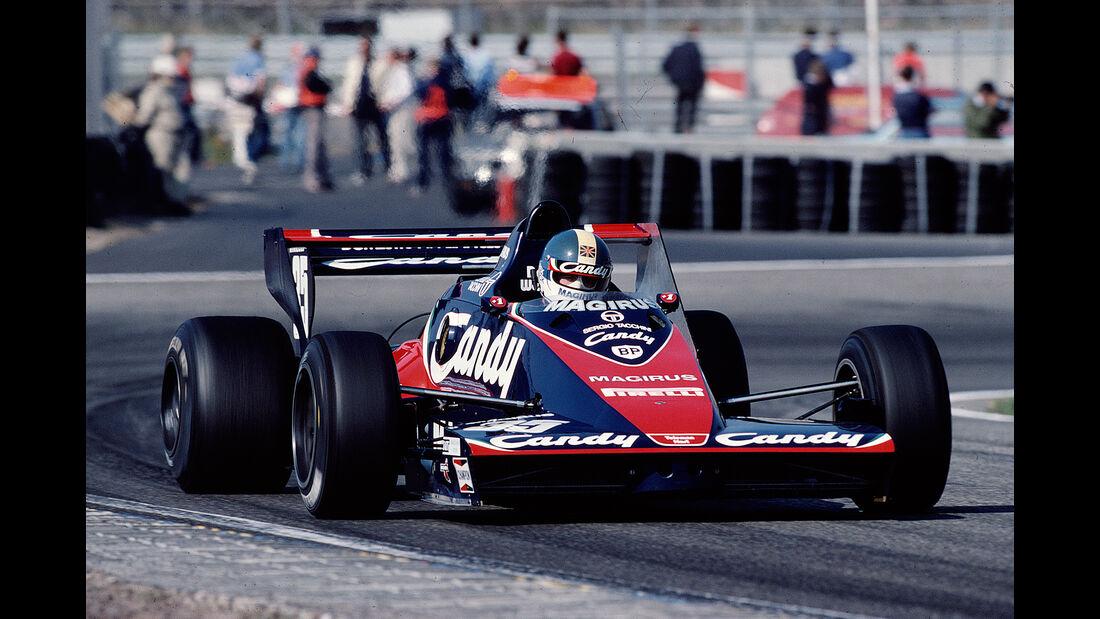 Derek Warwick - Toleman TG183B Hart - GP Niederlande 1983 - Zandvoort