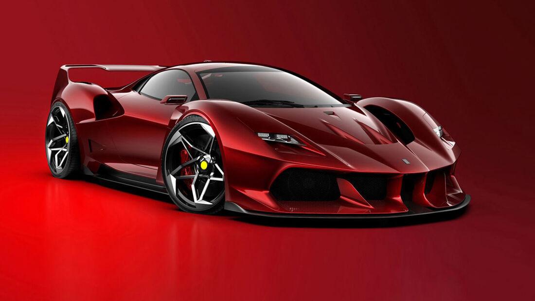 Design Concept Ferrari F40 F4T