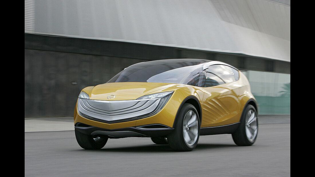 Designer, Laurens van den Acker, Mazda Hakaze