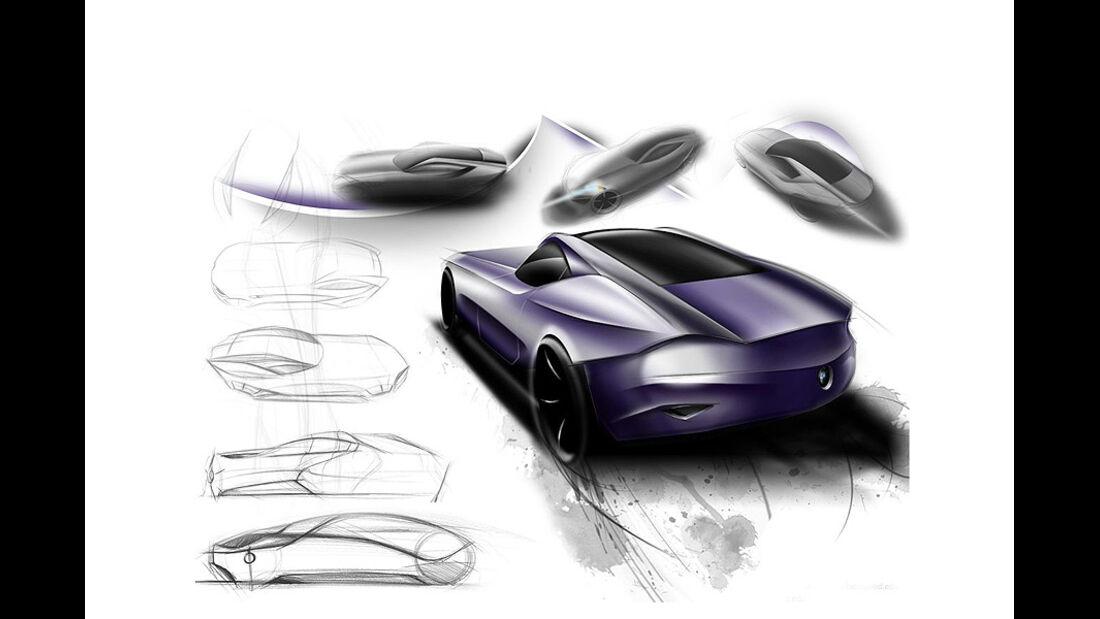 Designskizzen BMW Z10