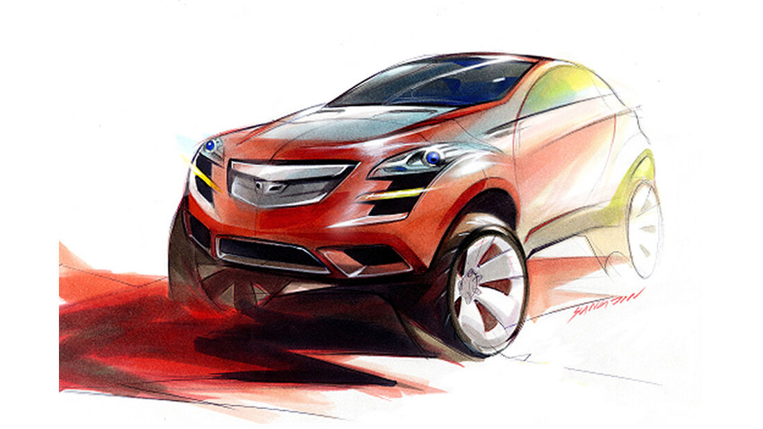 Designskizzen Chevrolet