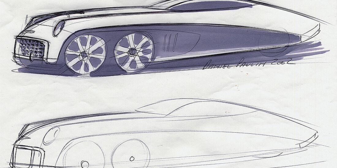 Designskizzen Ford