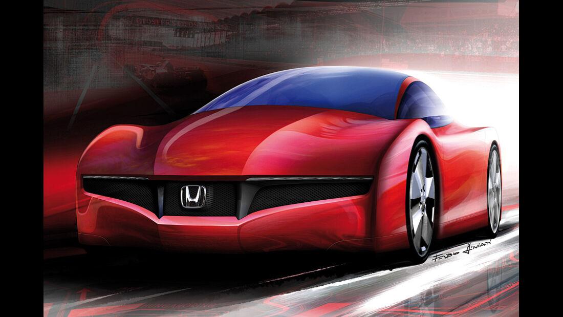 Designskizzen Honda
