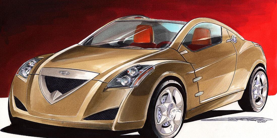 Designskizzen Hyundai