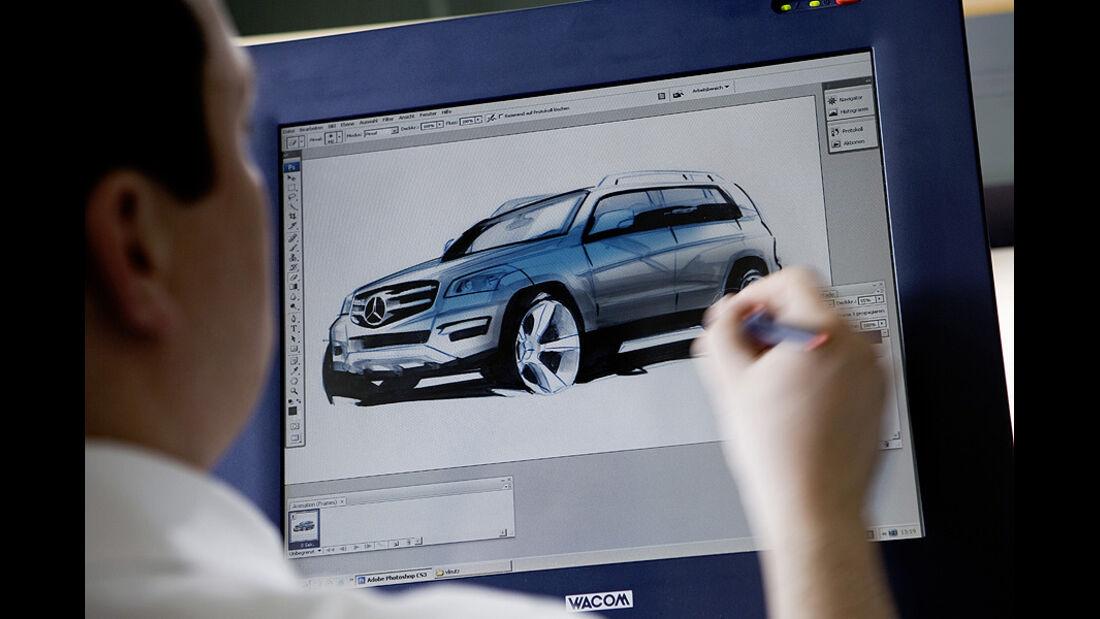 Designskizzen Mercedes