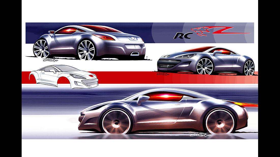 Designskizzen Peugeot