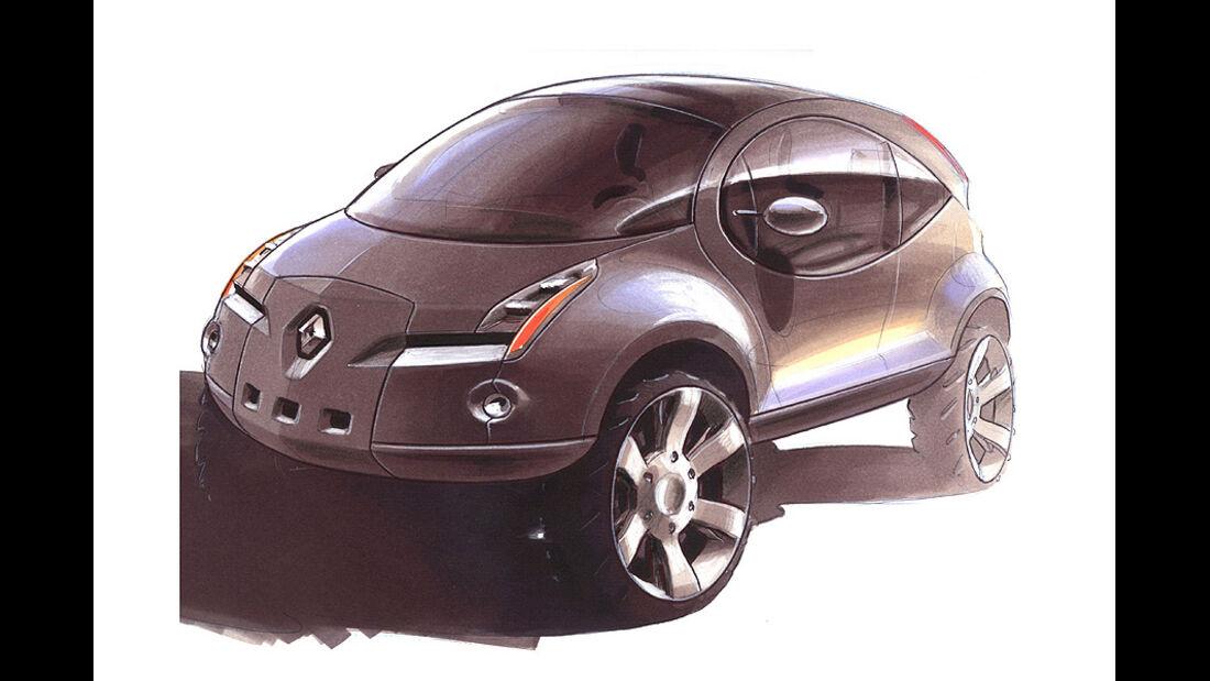 Designskizzen Renault
