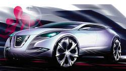 Designskizzen Suzuki