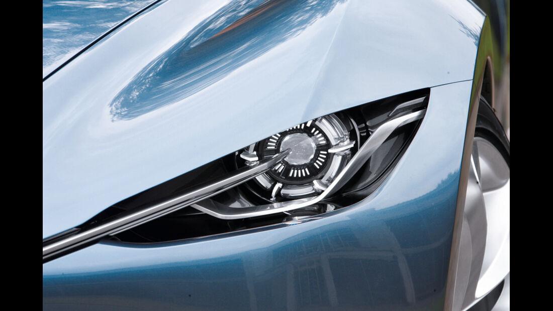 Designstudie Mazda Shinari Scheinwerfer