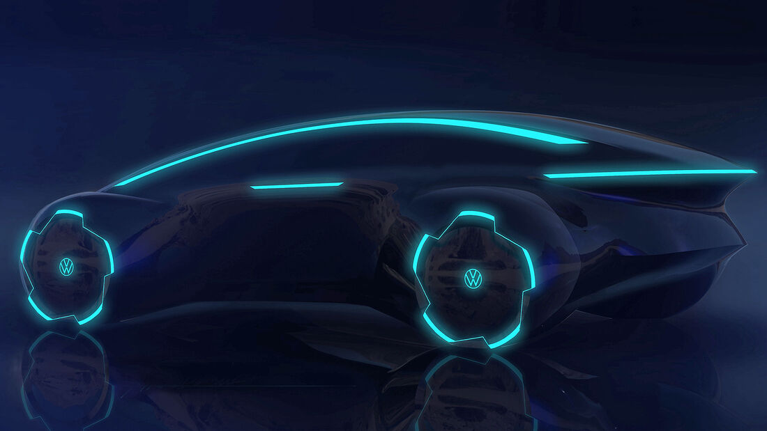 Designstudie autonomes Auto außen