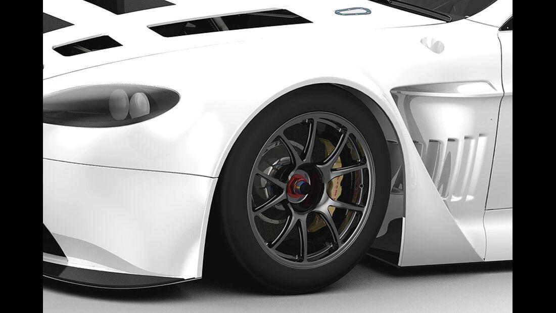 Detail Aston Martin V12 Vantage GT3
