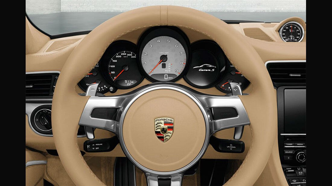 Detail, Cockpit, Porsche 911 Carrera 991