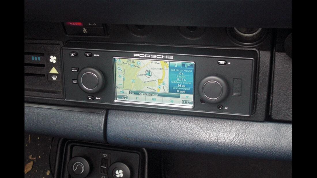 Detail, Porsche, Navigationsgerät
