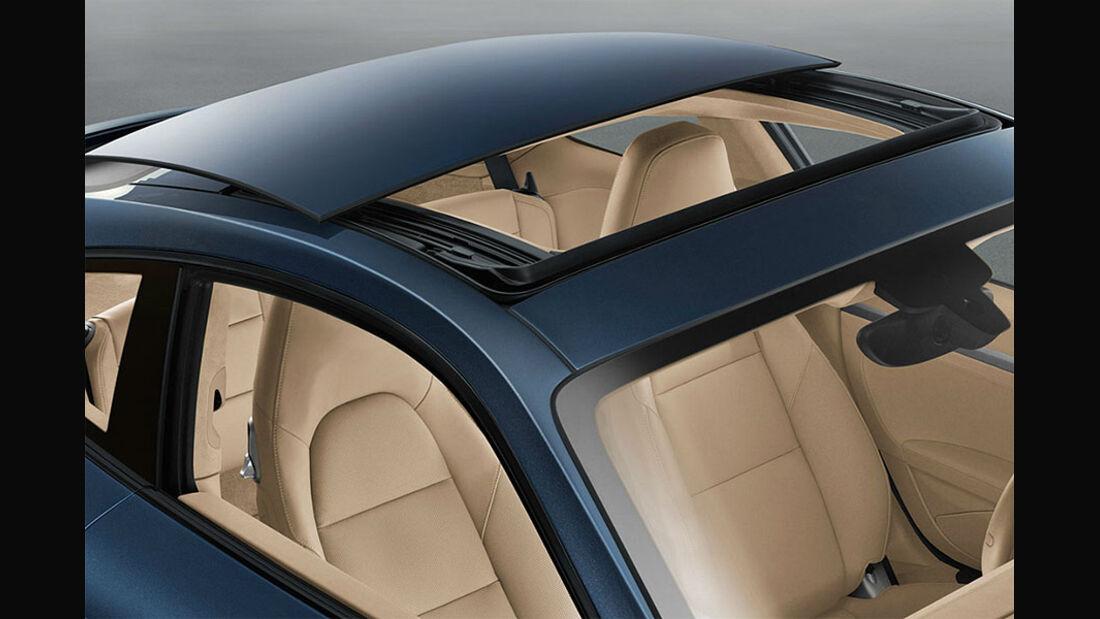 Detail, Schiebedach, Porsche 911 Carrera 991