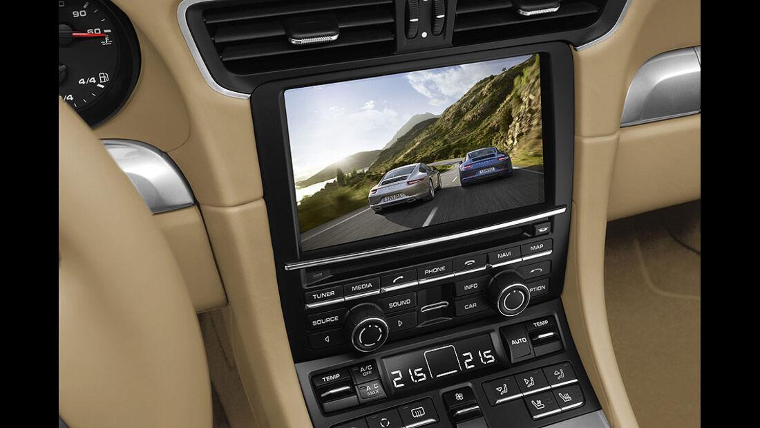 Detail, TV, Porsche 911 Carrera 991