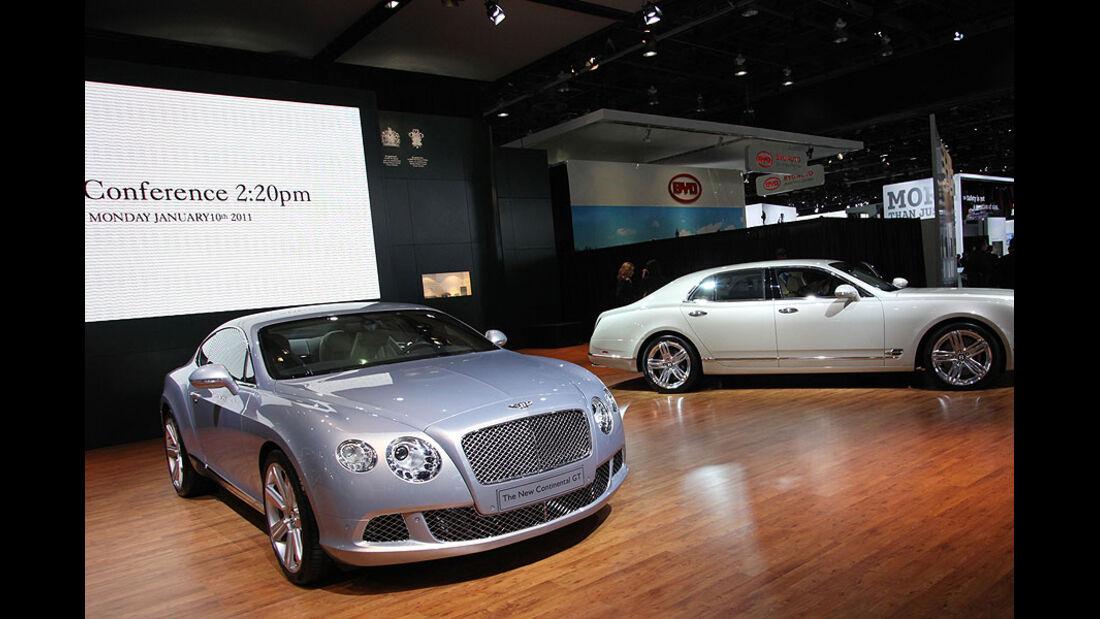 Detroit Motor Show 2011, Bentley