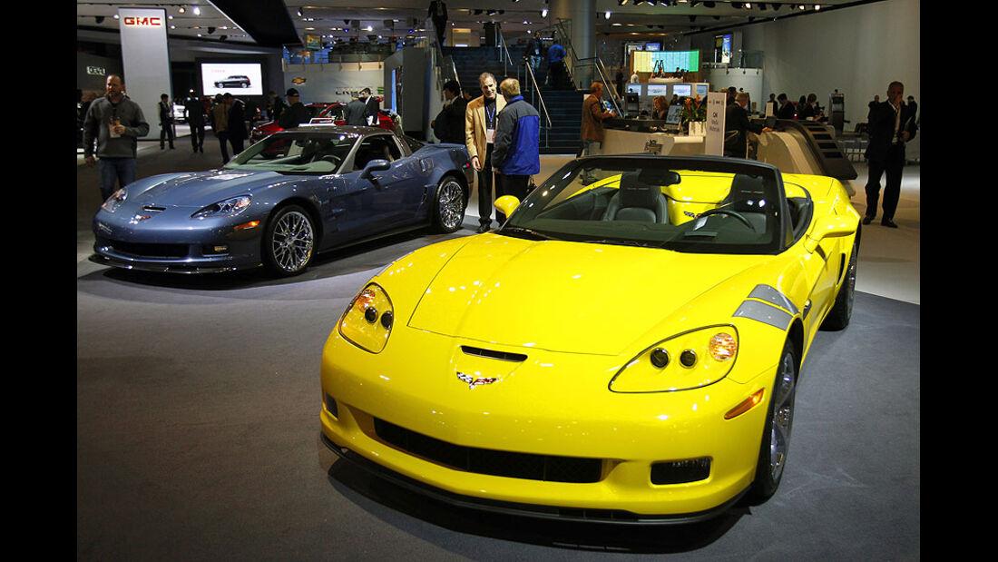 Detroit Motor Show 2011, Corvette