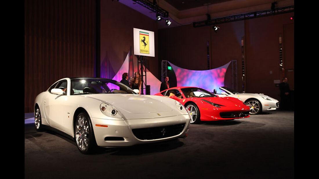 Detroit Motor Show 2011, Ferrari
