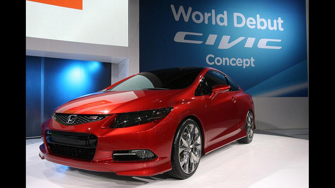 Detroit Motor Show 2011, Honda Civic