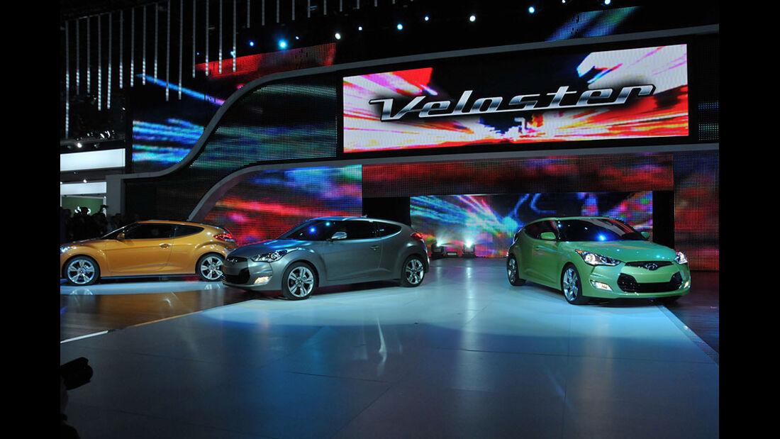 Detroit Motor Show 2011, Messe