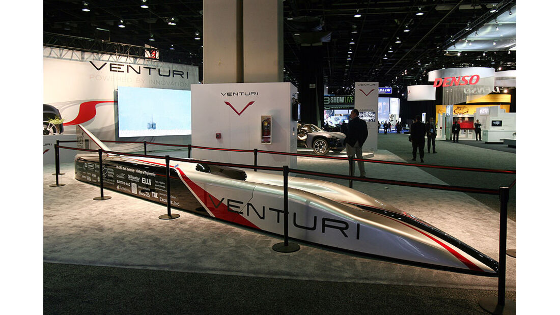 Detroit Motor Show 2011, Venturi