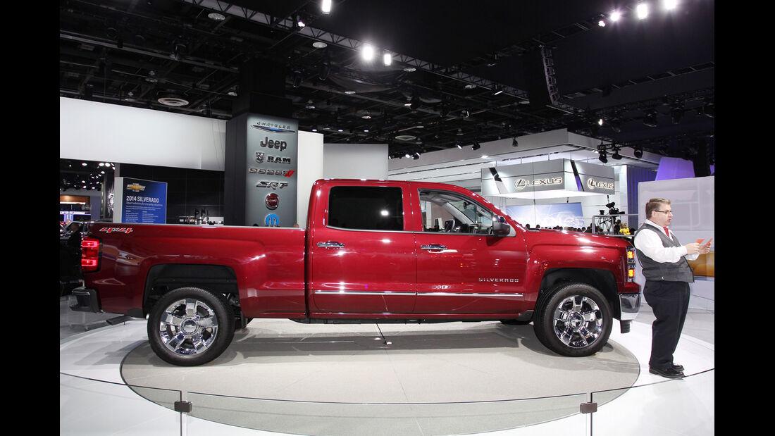 Detroit Motor Show 2013, Messerundgang