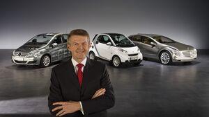 Deutsche Autobauer sind gezwungen, CO2 einzusparen.