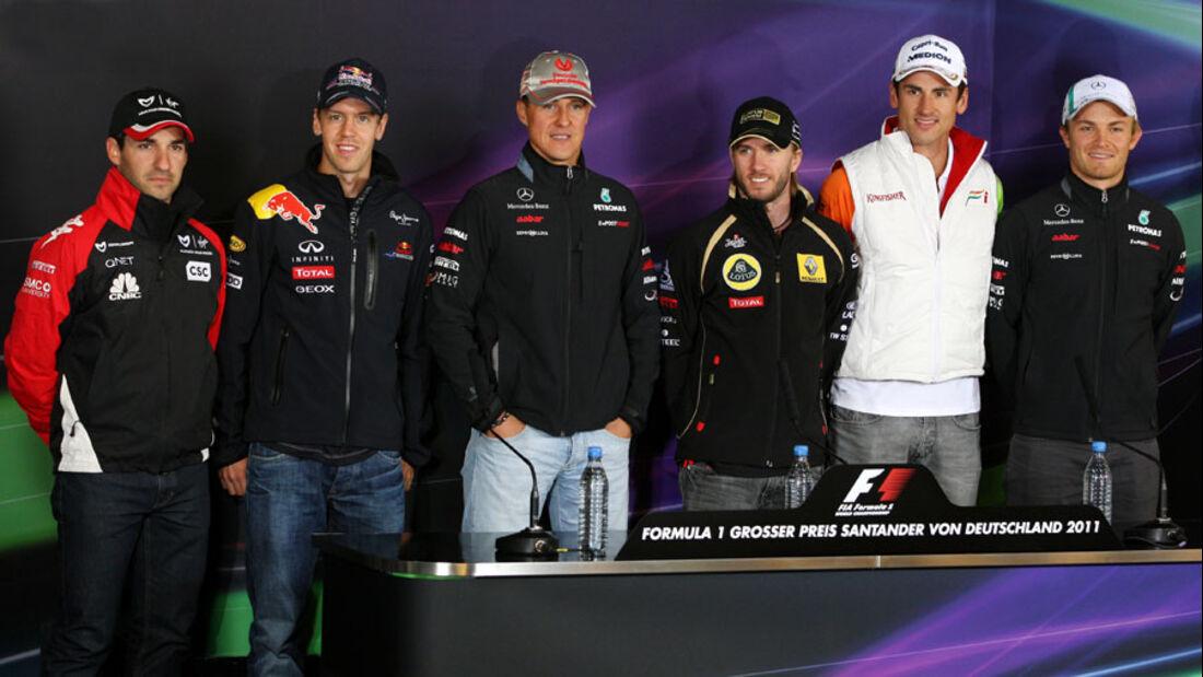 Deutsche Piloten - Nürburgring - GP Deutschland - 21. Juli 2011
