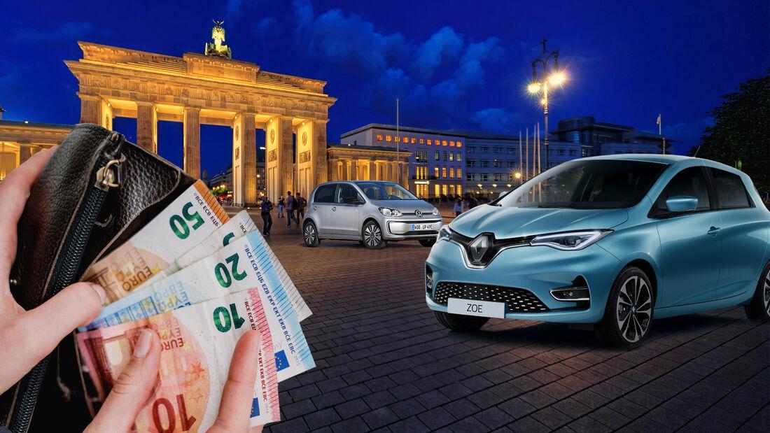 Deutschland Elektroauto Förderung Prämie