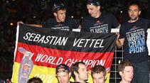 Deutschland-Flagge WM-Feier GP Japan 2011