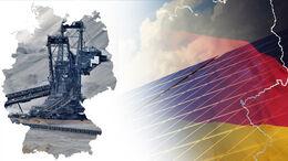Deutschland Kohle Fläche Photovoltaik