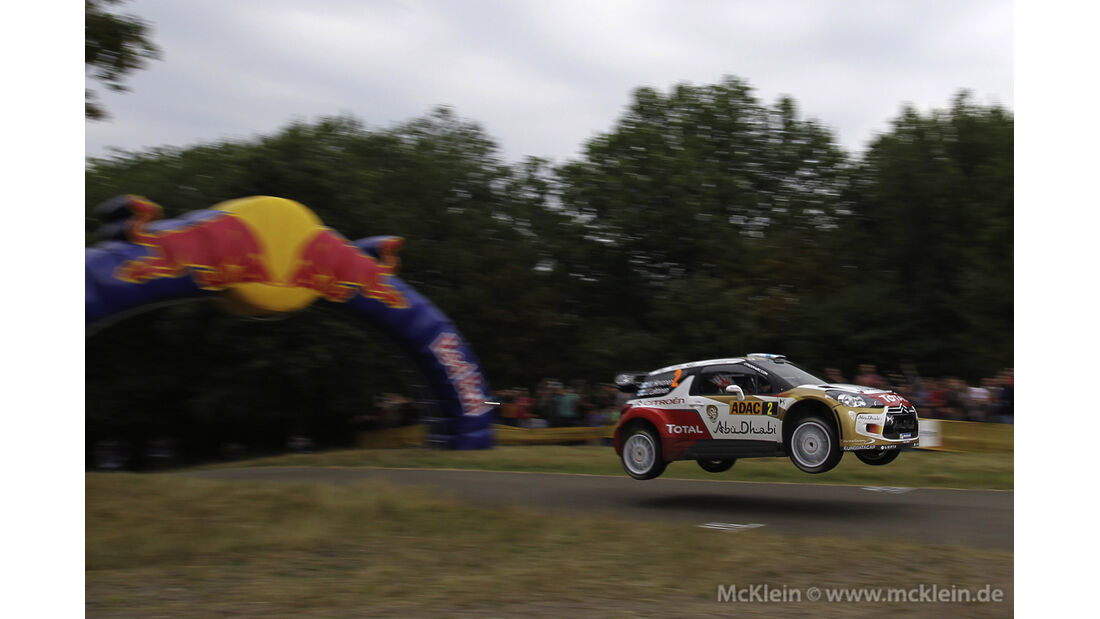 Deutschland Rallye Mikko Hirvonen 2013