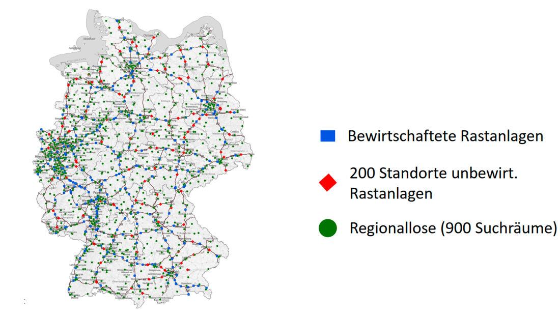 Deutschlandnetz Schnellladenetz