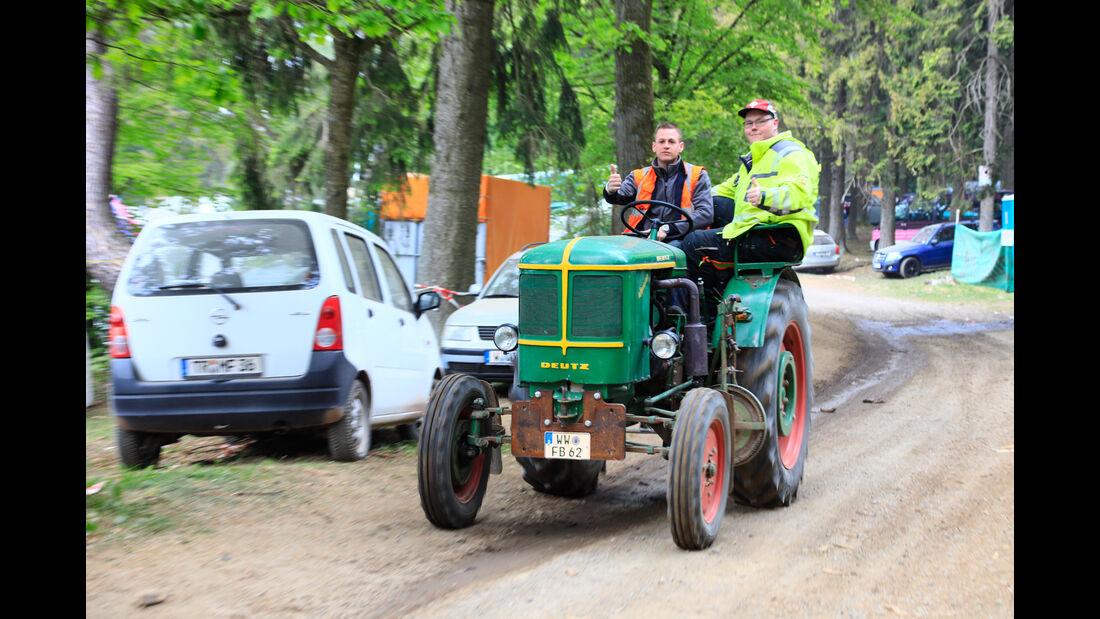 Deutz Traktor - Fan-Autos - 24h-Rennen Nürburgring 2018 - Nordschleife