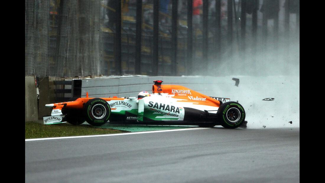 Di Resta Force India GP Brasilien 2012