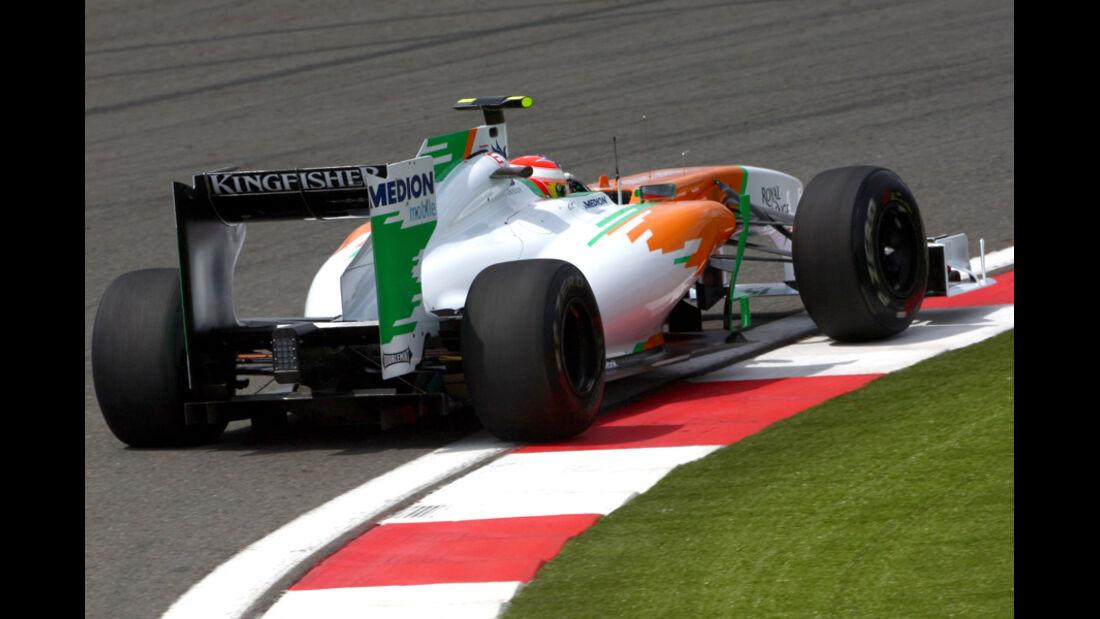 Di Resta Force India GP Türkei 2011