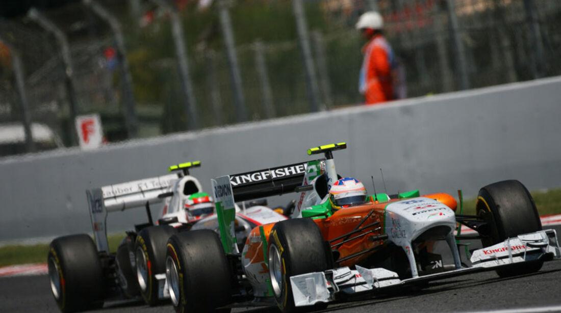 Di Resta GP Spanien 2011