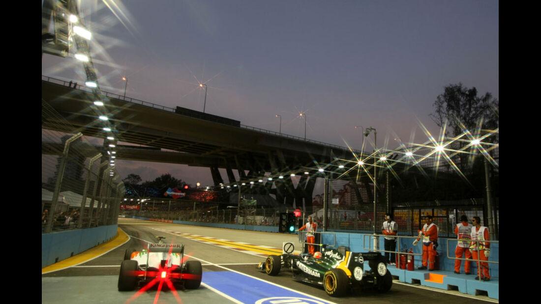 Di Resta & Trulli - GP Singapur - 23. September 2011