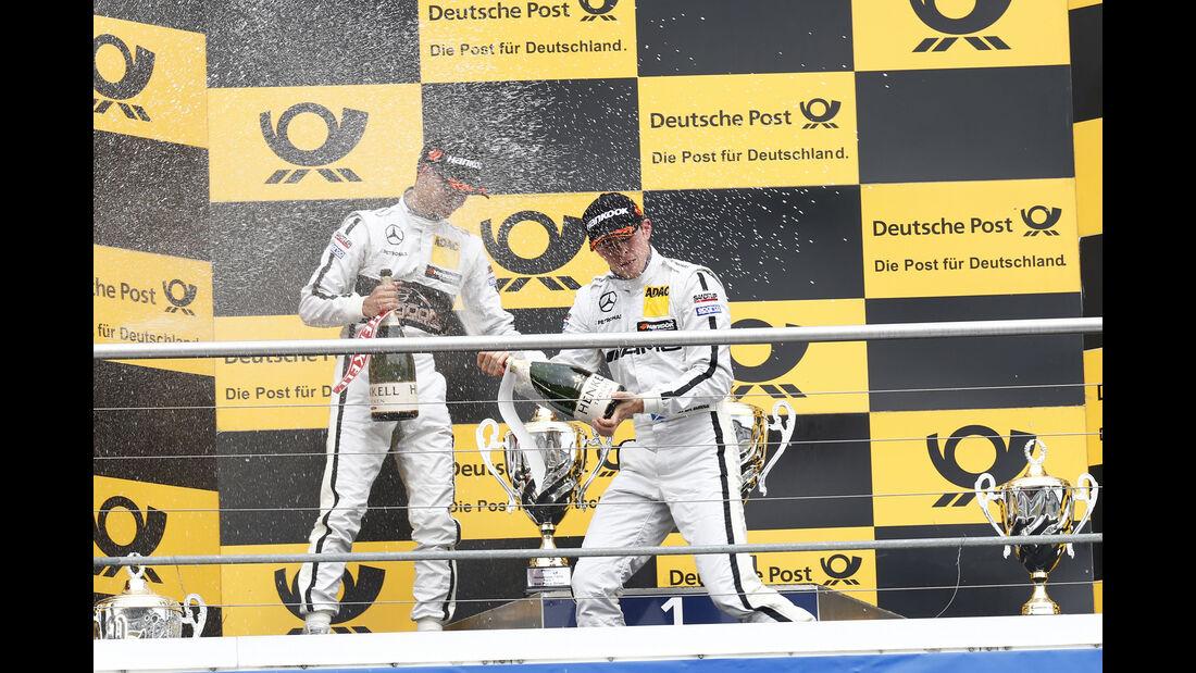 Di Resta & Wehrlein - DTM Hockenheim 2015