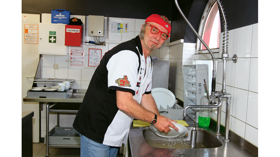 Didi Schäfer, Küche