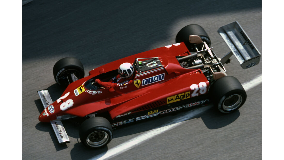 Didier Pironi - Ferrari 126C2 - GP Monaco 1982