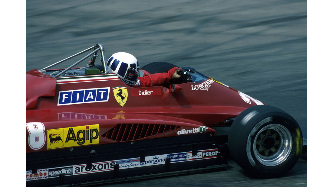 Didier Pironi Ferrari 1982