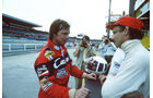 Didier Pironi - Niki Lauda - Testfahrten Hockenheim 1982