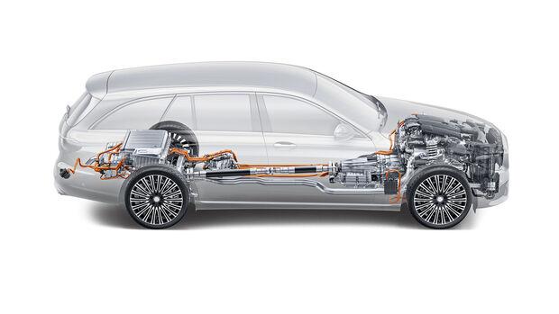 Die 10 größten Plug-in-Hybrid-Irrtümer, Mercedes C-/E-Klasse, Technik