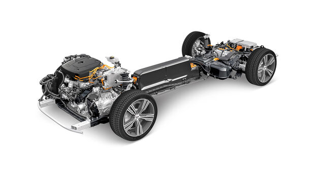 Die 10 größten Plug-in-Hybrid-Irrtümer, Volvo V90 T8, Technik