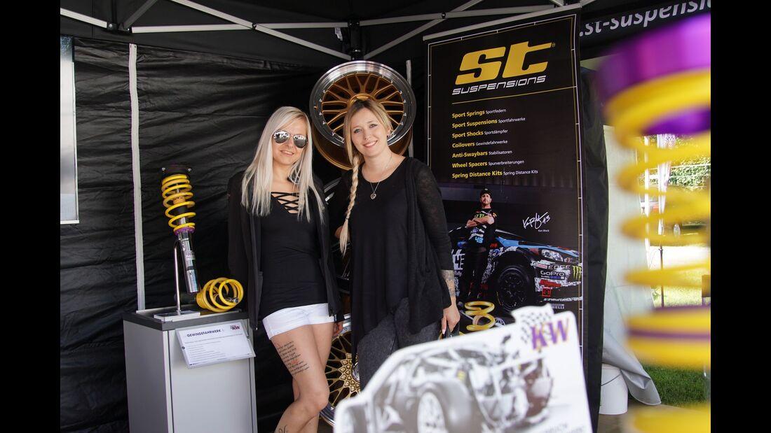 Die Girls vom GTI-Treffen am Wörthersee 2017.